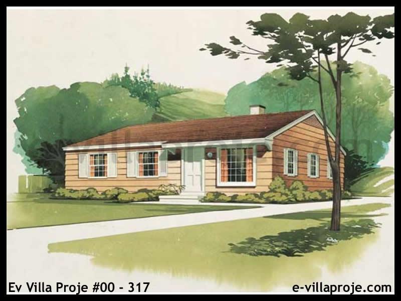 Ev Villa Proje #00 – 317, 1 katlı, 3 yatak odalı, 98 m2
