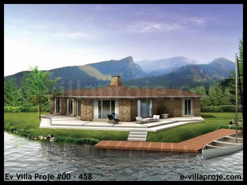 Ev Villa Proje #00 – 458, 1 katlı, 3 yatak odalı, 126 m2