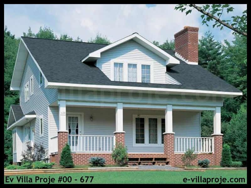 Ev Villa Proje #00 – 677, 2 katlı, 3 yatak odalı, 180 m2