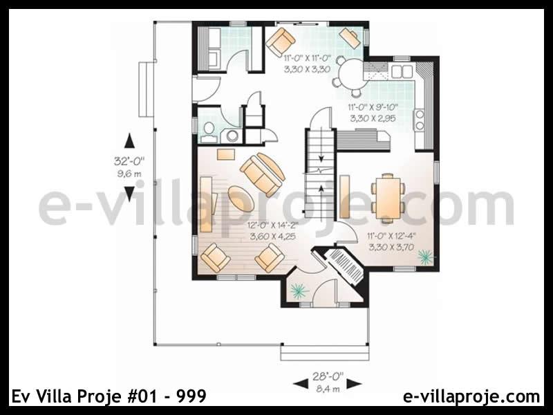 Ev Villa Proje #01 – 999