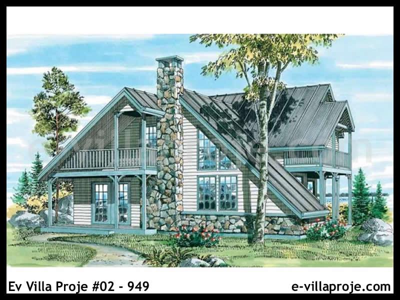 Ev Villa Proje #02 – 949, 2 katlı, 3 yatak odalı, 151 m2