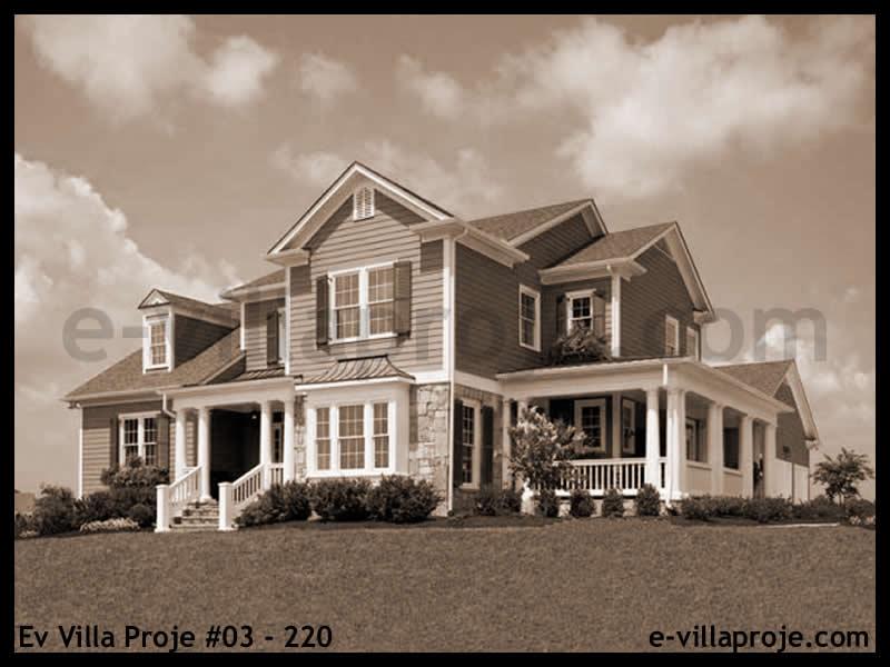 Ev Villa Proje #03 – 220