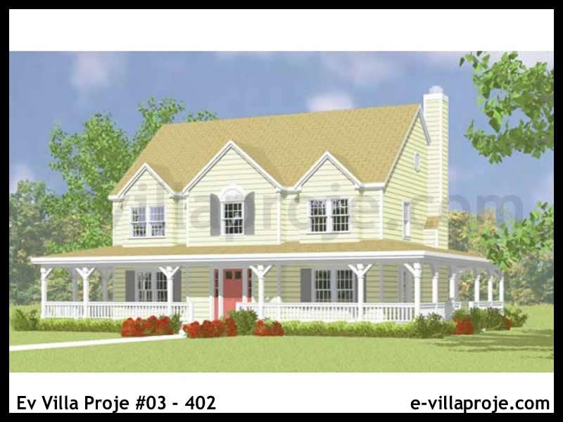 Ev Villa Proje #03 – 402, 2 katlı, 4 yatak odalı, 207 m2
