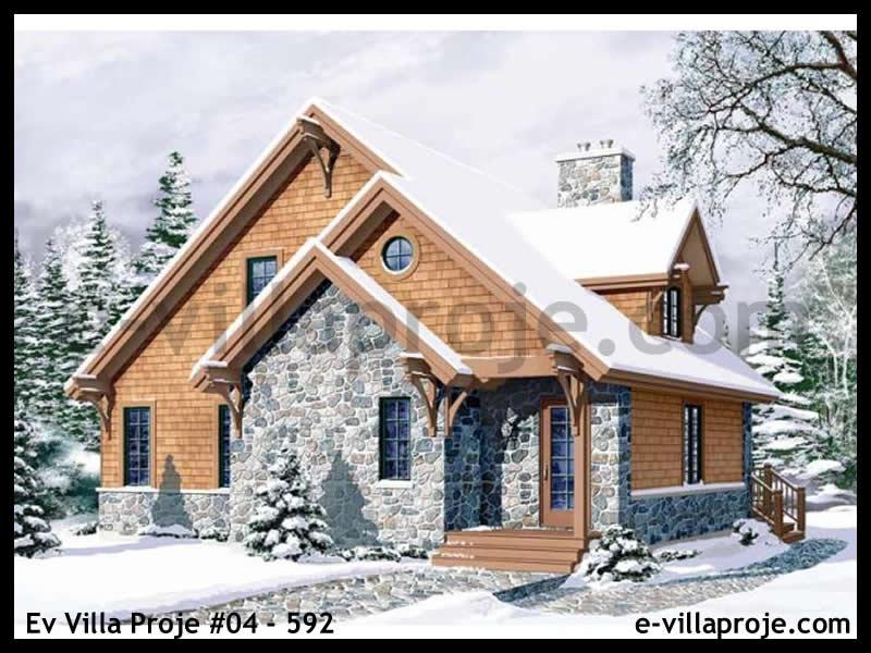 Ev Villa Proje #04 – 592, 2 katlı, 3 yatak odalı, 147 m2