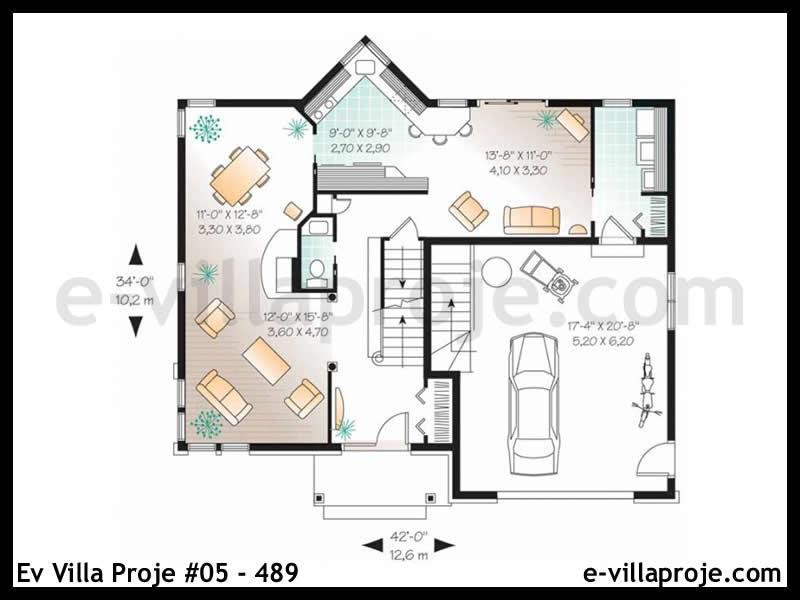 Ev Villa Proje #05 – 489