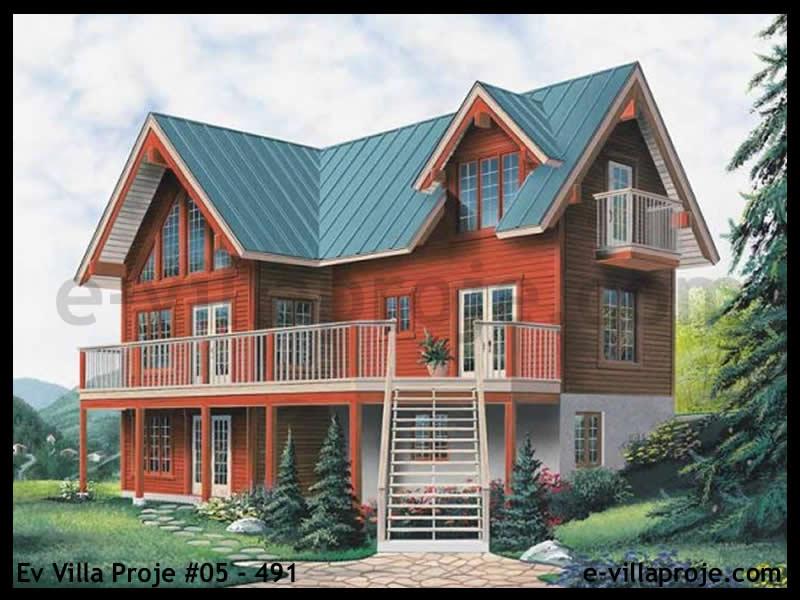 Ev Villa Proje #05 – 491, 3 katlı, 3 yatak odalı, 194 m2