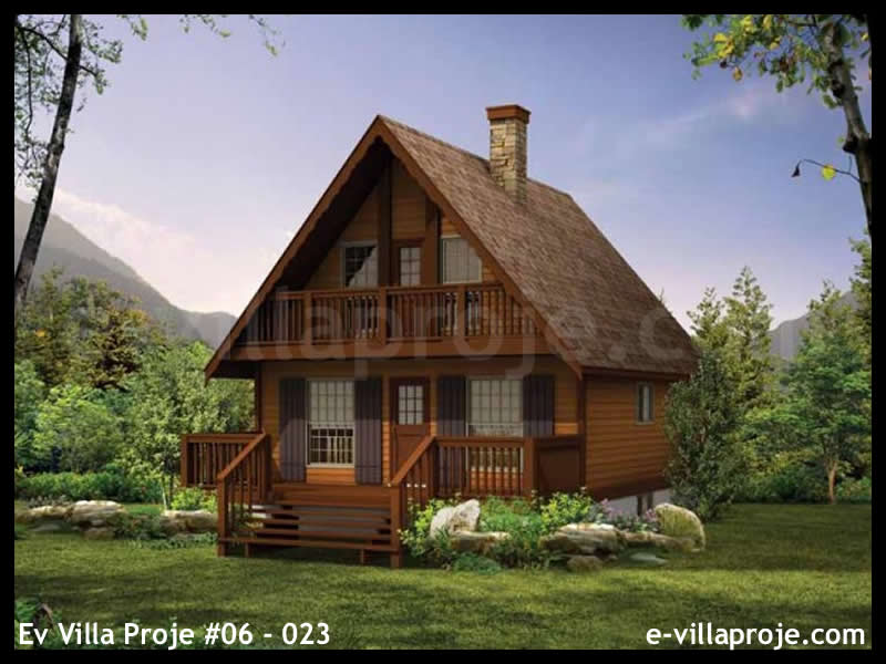 Ev Villa Proje #06 – 023, 2 katlı, 3 yatak odalı, 97 m2