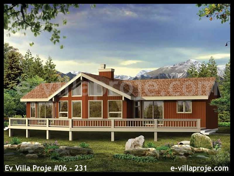 Ev Villa Proje #06 – 231, 1 katlı, 3 yatak odalı, 115 m2