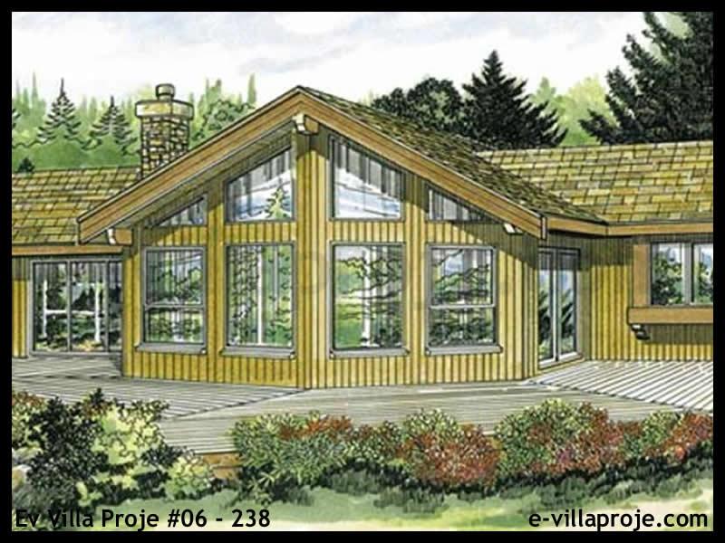 Ev Villa Proje #06 – 238, 1 katlı, 3 yatak odalı, 117 m2