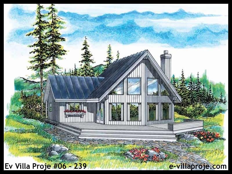 Ev Villa Proje #06 – 239, 2 katlı, 3 yatak odalı, 129 m2