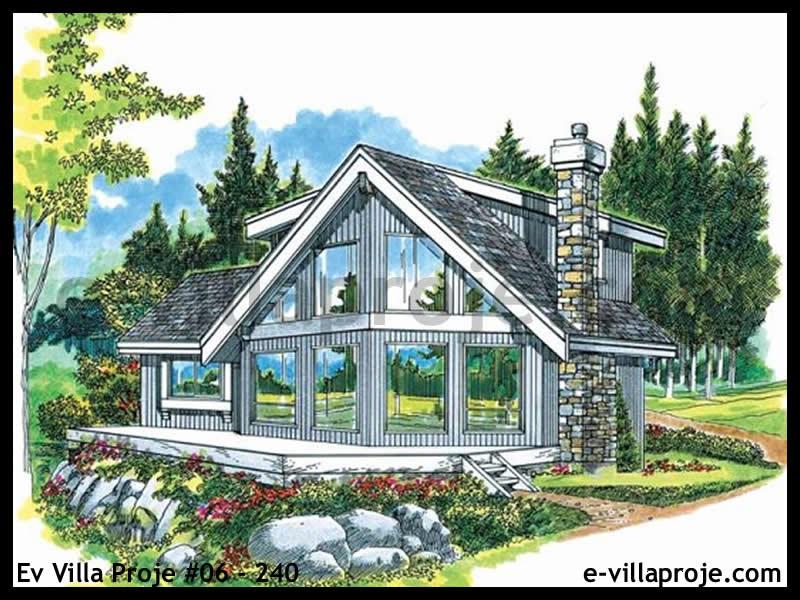 Ev Villa Proje #06 – 240, 1 katlı, 3 yatak odalı, 139 m2