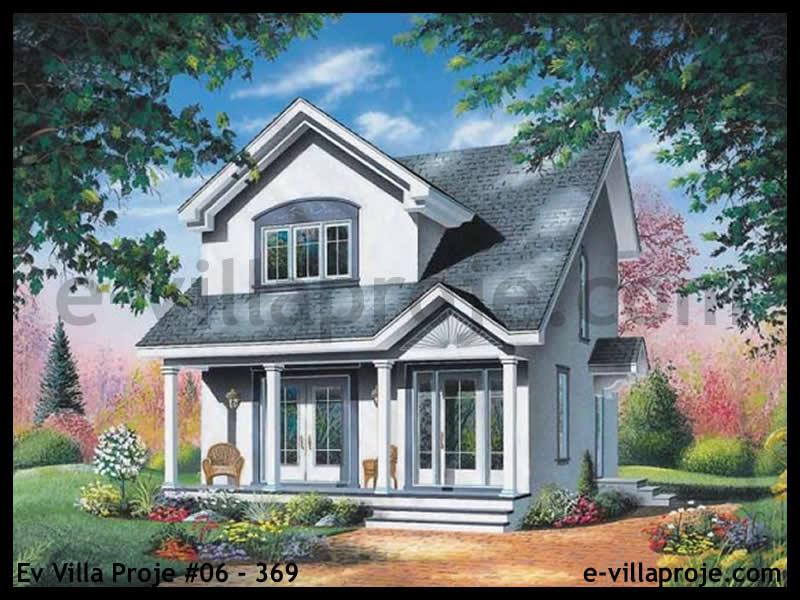 Ev Villa Proje #06 – 369, 2 katlı, 3 yatak odalı, 118 m2