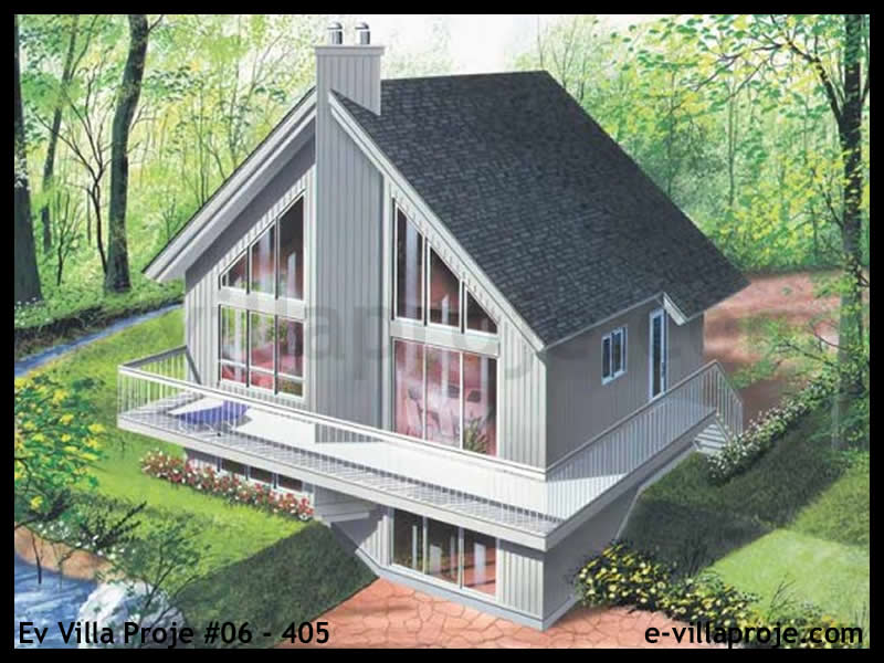 Ev Villa Proje #06 – 405, 3 katlı, 3 yatak odalı, 255 m2