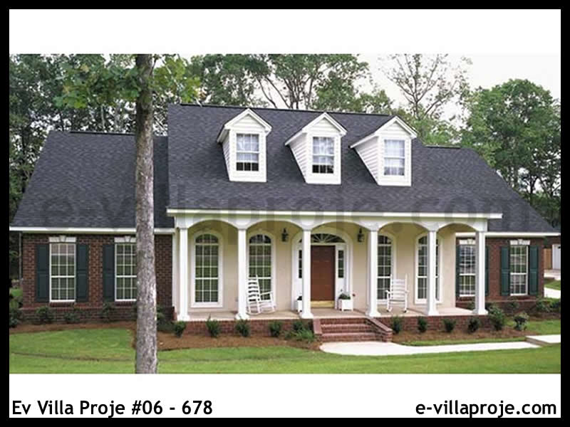 Ev Villa Proje #06 – 678, 2 katlı, 3 yatak odalı, 267 m2