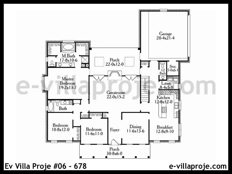Ev Villa Proje #06 – 678