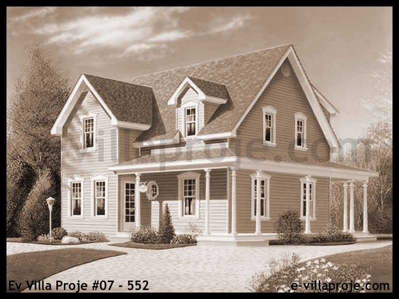 Ev Villa Proje #07 – 552