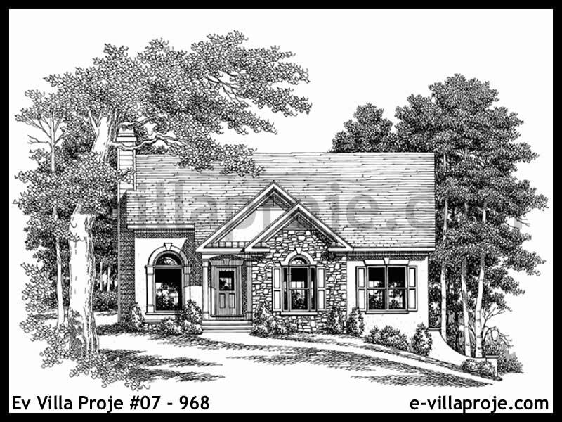 Ev Villa Proje #07 – 968