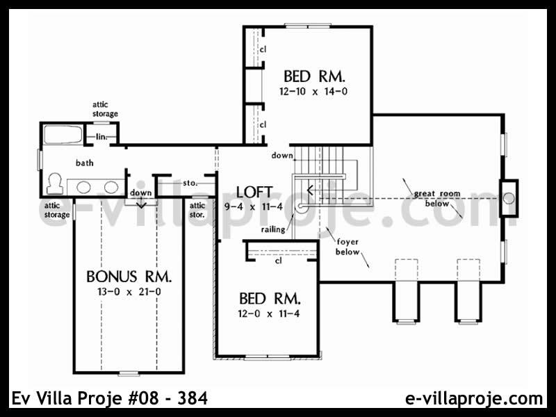 Ev Villa Proje #08 – 384