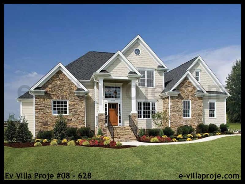 Ev Villa Proje #08 – 628, 2 katlı, 3 yatak odalı, 194 m2