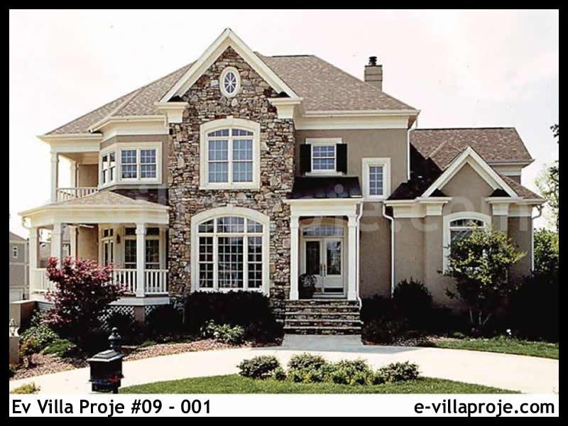 Ev Villa Proje #09 – 001, 2 katlı, 5 yatak odalı, 408 m2