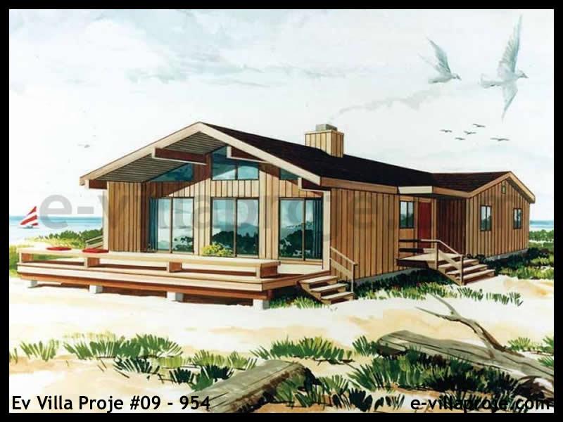 Ev Villa Proje #09 – 954, 1 katlı, 3 yatak odalı, 117 m2