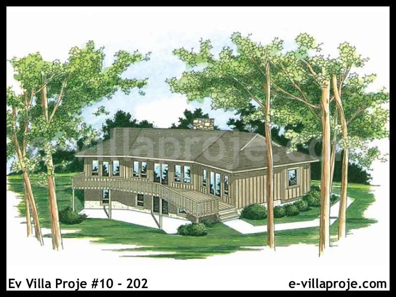 Ev Villa Proje #10 – 202, 1 katlı, 2 yatak odalı, 144 m2