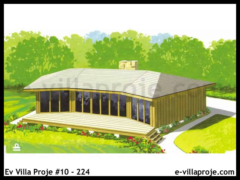 Ev Villa Proje #10 – 224, 1 katlı, 2 yatak odalı, 109 m2