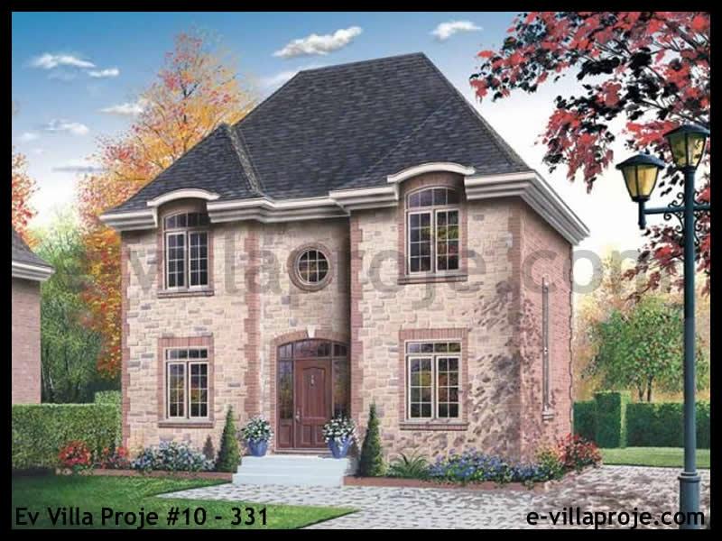 Ev Villa Proje #10 – 331, 2 katlı, 3 yatak odalı, 149 m2