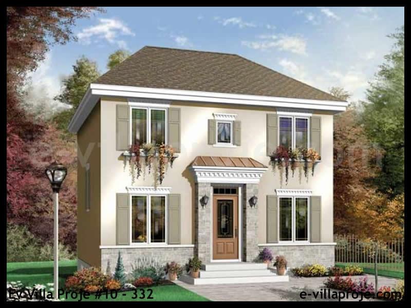 Ev Villa Proje #10 – 332, 2 katlı, 3 yatak odalı, 123 m2