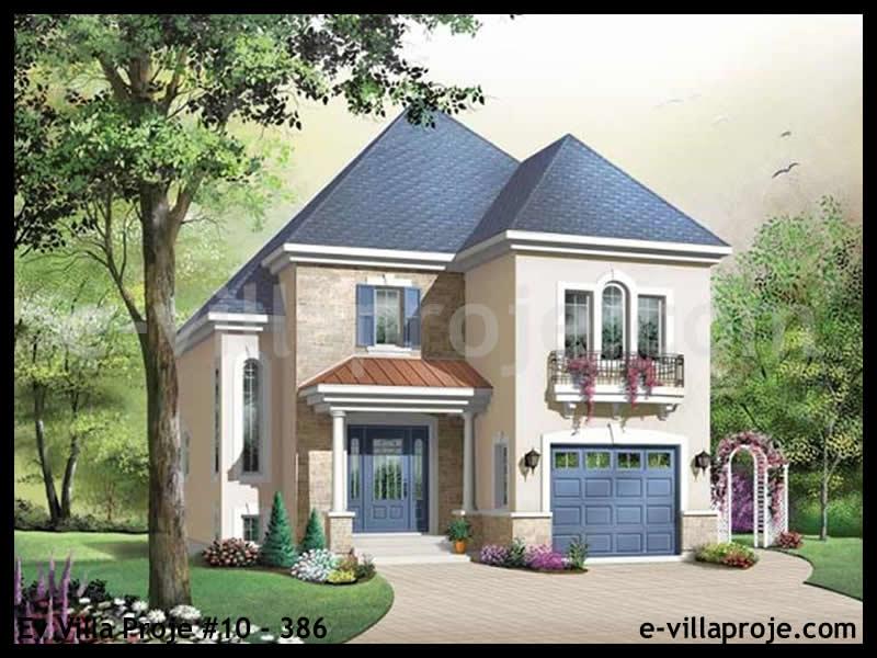 Ev Villa Proje #10 – 386, 2 katlı, 3 yatak odalı, 143 m2