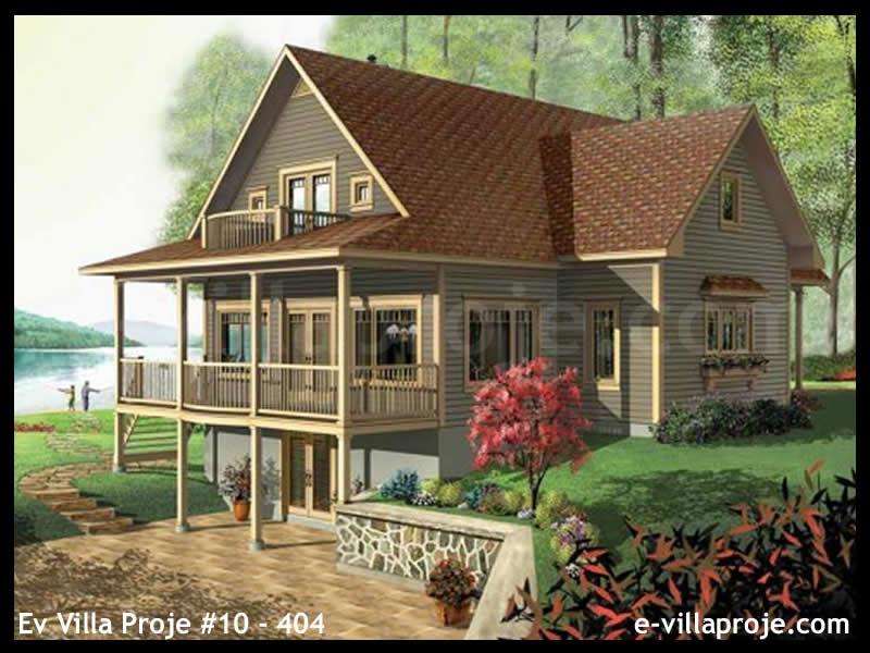 Ev Villa Proje #10 – 404, 3 katlı, 3 yatak odalı, 340 m2