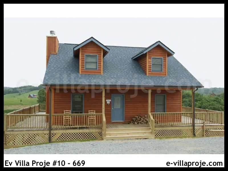 Ev Villa Proje #10 – 669, 2 katlı, 3 yatak odalı, 105 m2