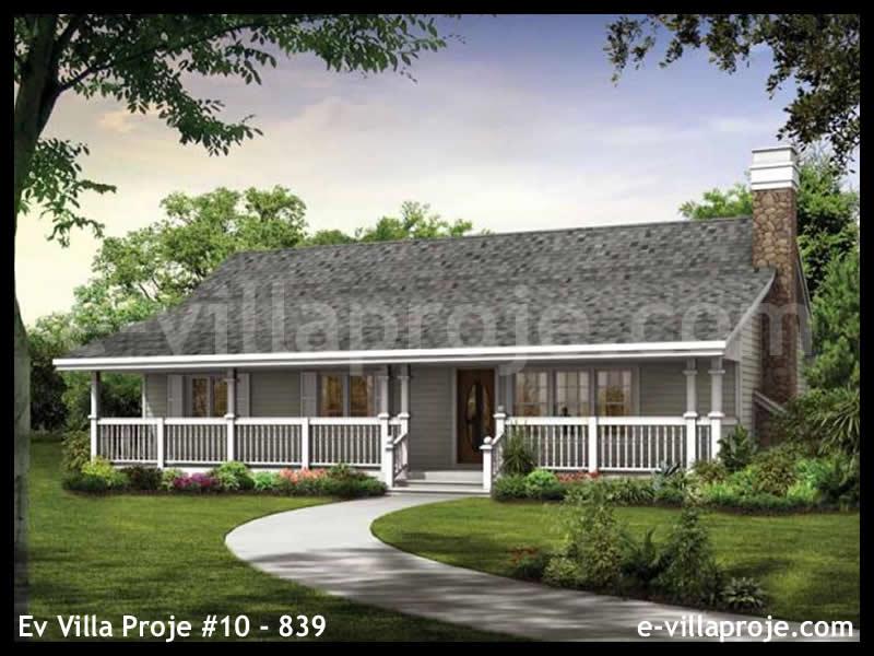 Ev Villa Proje #10 – 839, 1 katlı, 3 yatak odalı, 121 m2