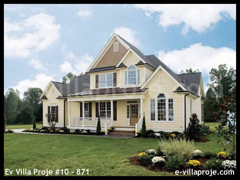 Ev Villa Proje #10 – 871, 2 katlı, 4 yatak odalı, 234 m2