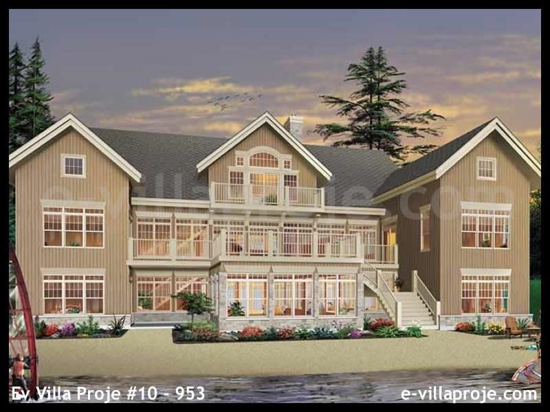 Ev Villa Proje #10 – 953, 3 katlı, 7 yatak odalı, 813 m2