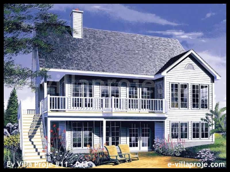 Ev Villa Proje #11 – 043, 2 katlı, 4 yatak odalı, 267 m2