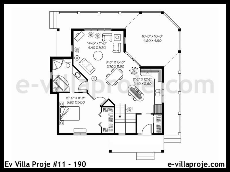 Ev Villa Proje #11 – 190