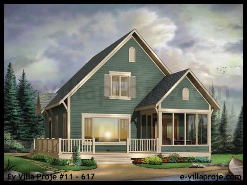Ev Villa Proje #11 – 617, 2 katlı, 3 yatak odalı, 125 m2