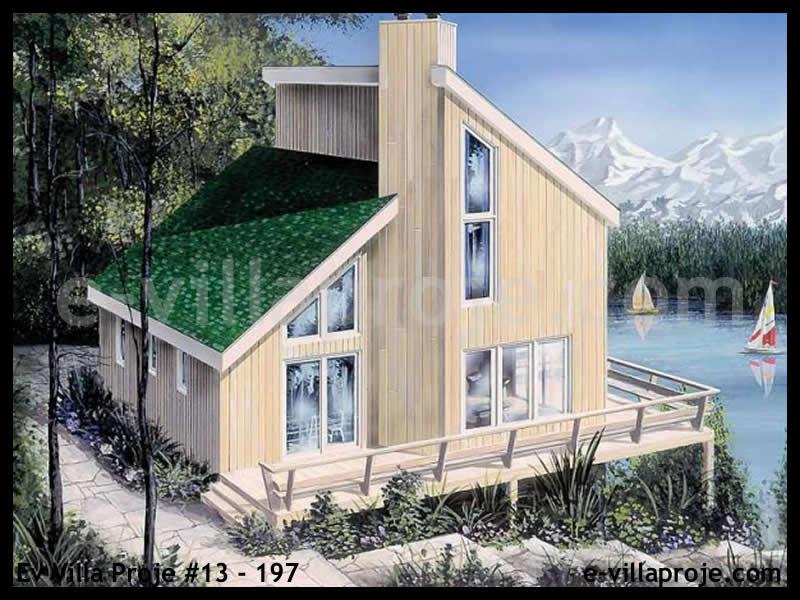 Ev Villa Proje #13 – 197, 2 katlı, 3 yatak odalı, 117 m2