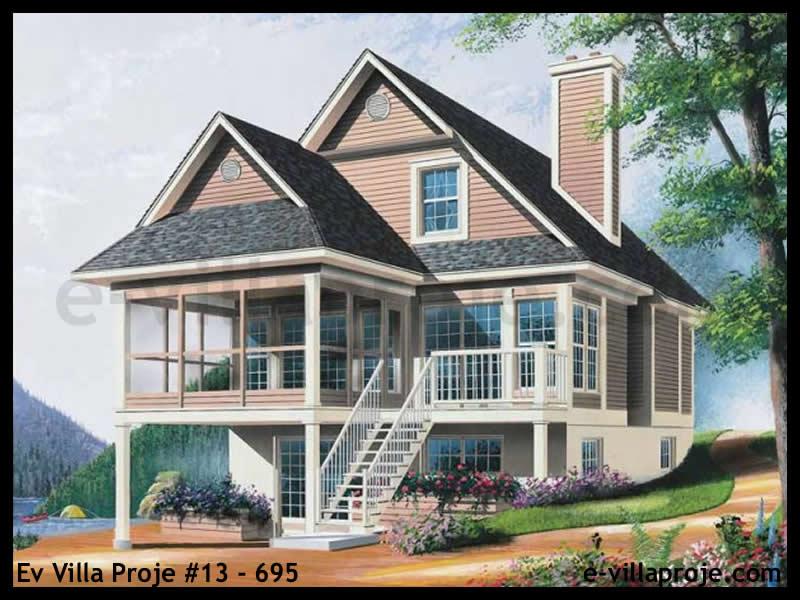 Ev Villa Proje #13 – 695, 2 katlı, 3 yatak odalı, 134 m2