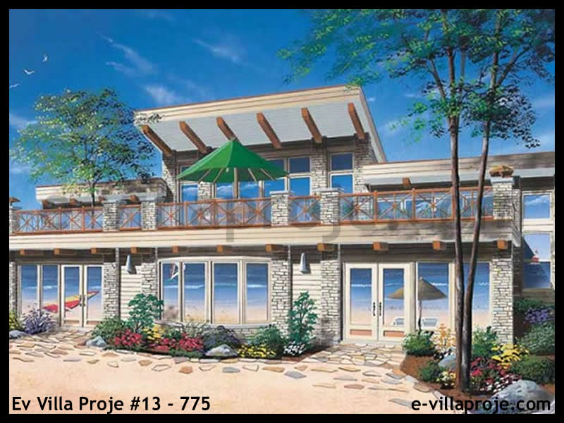 Ev Villa Proje #13 – 775, 2 katlı, 3 yatak odalı, 228 m2