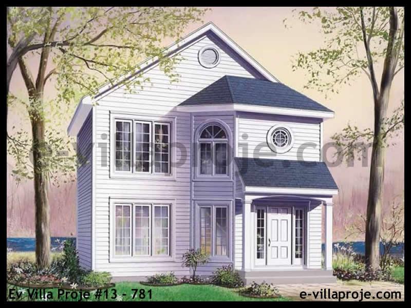 Ev Villa Proje #13 – 781, 2 katlı, 3 yatak odalı, 117 m2