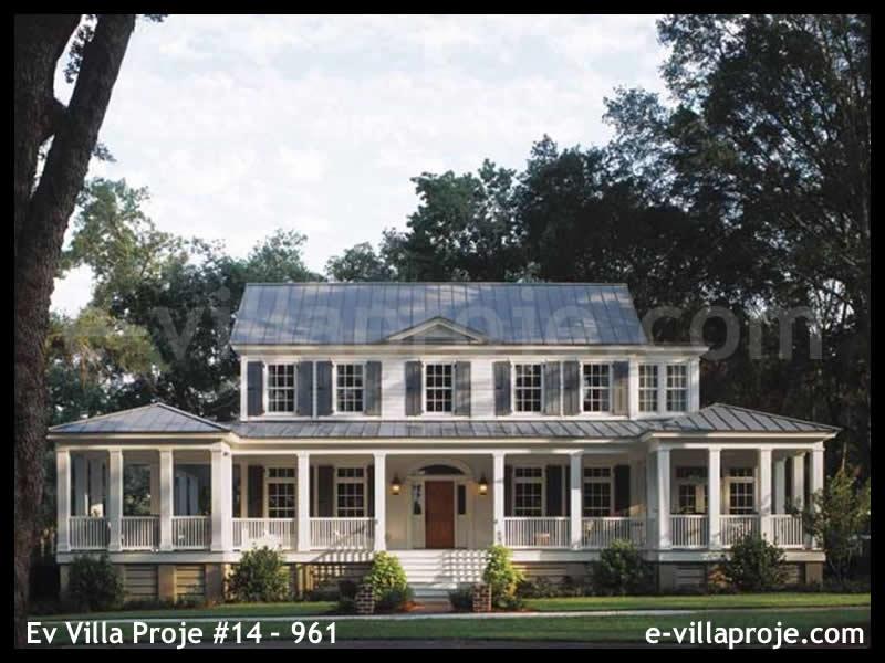 Ev Villa Proje #14 – 961, 2 katlı, 3 yatak odalı, 247 m2