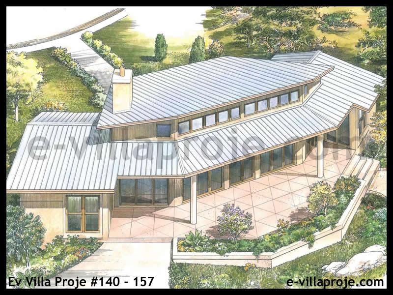 Ev Villa Proje #140 – 157, 1 katlı, 2 yatak odalı, 115 m2