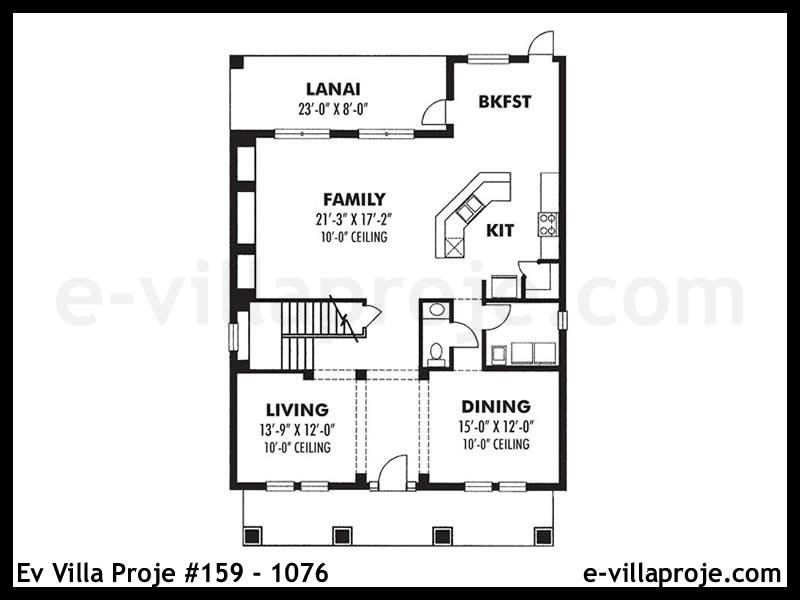 Ev Villa Proje #159 – 1076