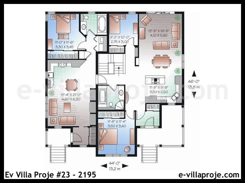 Ev Villa Proje #23 – 2195