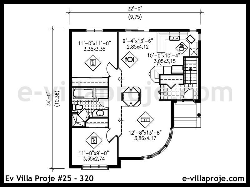 Ev Villa Proje #25 – 320