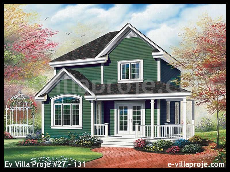 Ev Villa Proje #27 – 131, 2 katlı, 3 yatak odalı, 138 m2