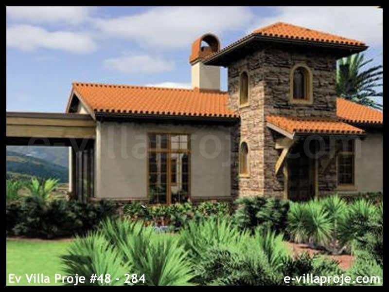 Ev Villa Proje #48 – 284, 1 katlı, 1 yatak odalı, 1 garajlı, 88 m2