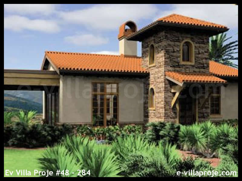 Ev Villa Proje #48 – 284, 1 katlı, 1 yatak odalı, 88 m2